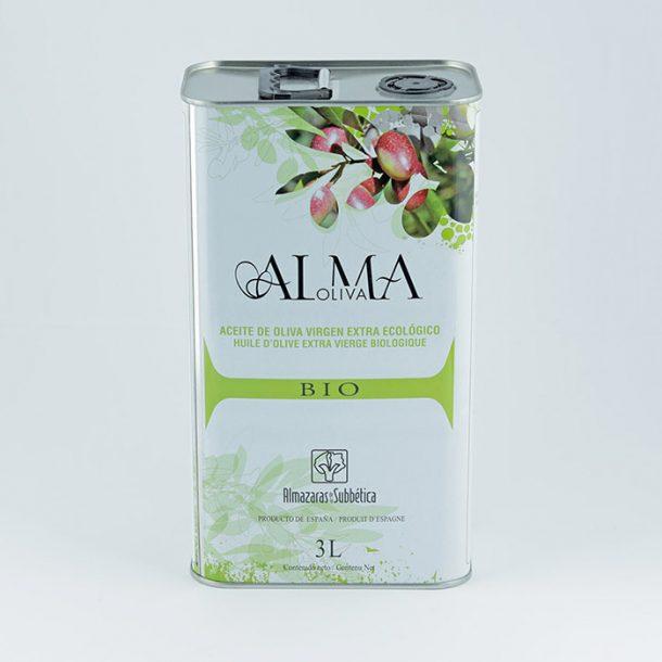 Aceite de oliva ecológico Almaoliva Bio lata 3l