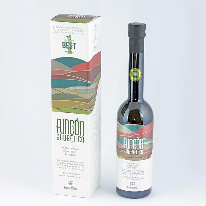 Aceite de Oliva Virgen Ecológico más Premiado del Mundo