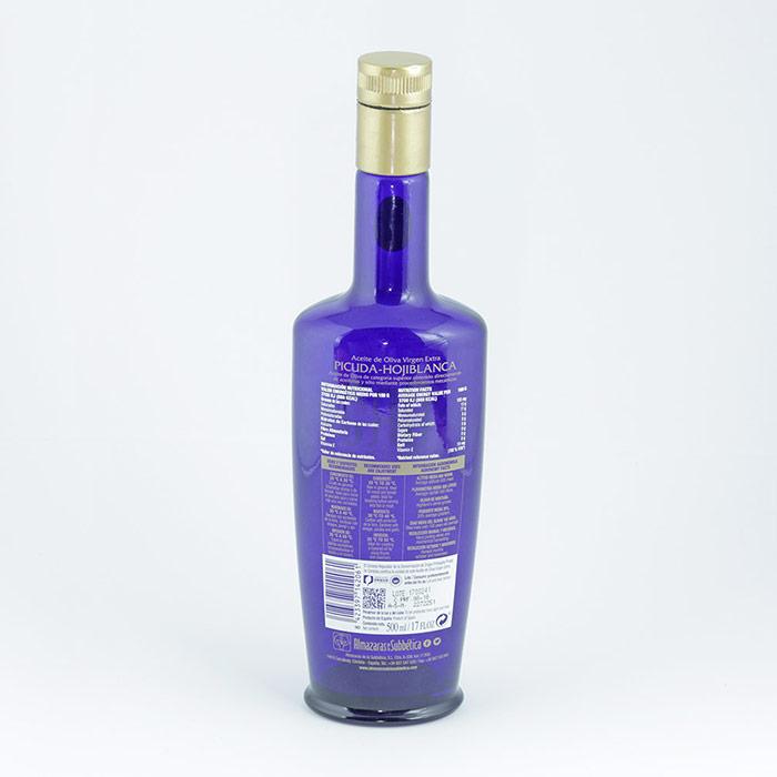 Aceite de Oliva Virgen Extra ParqueOliva Serie Oro 500ml etiqueta