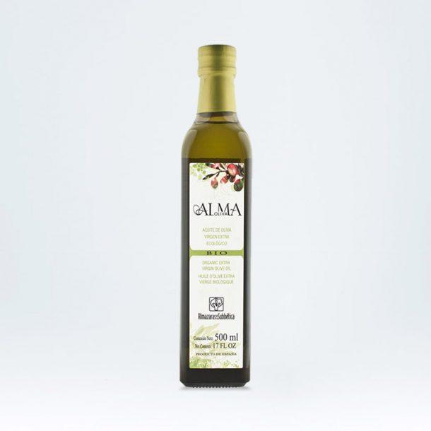 Aceite Oliva Virgen Extra Ecológico AlmaOliva Bio 500ml