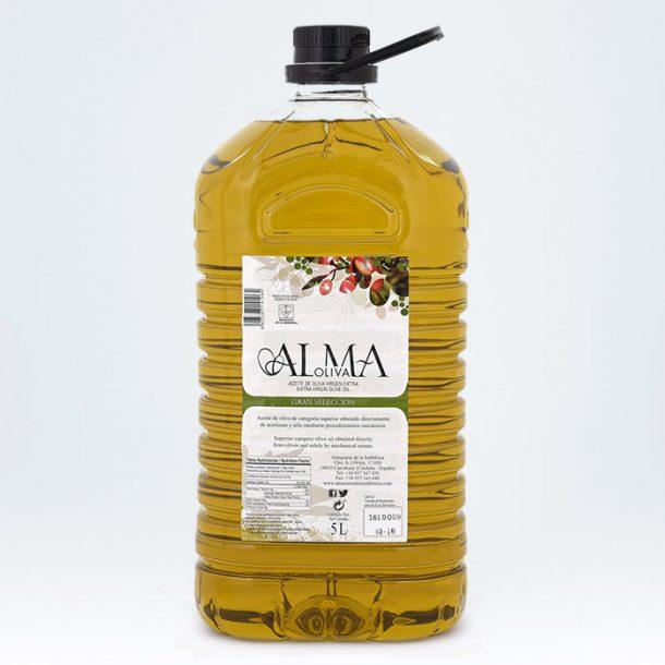 Aceite de oliva virgen extra Almaoliva Gran Selección 5l