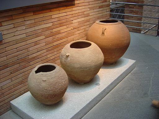 Dolia para almacenar Aceite de oliva en la Antigua Roma