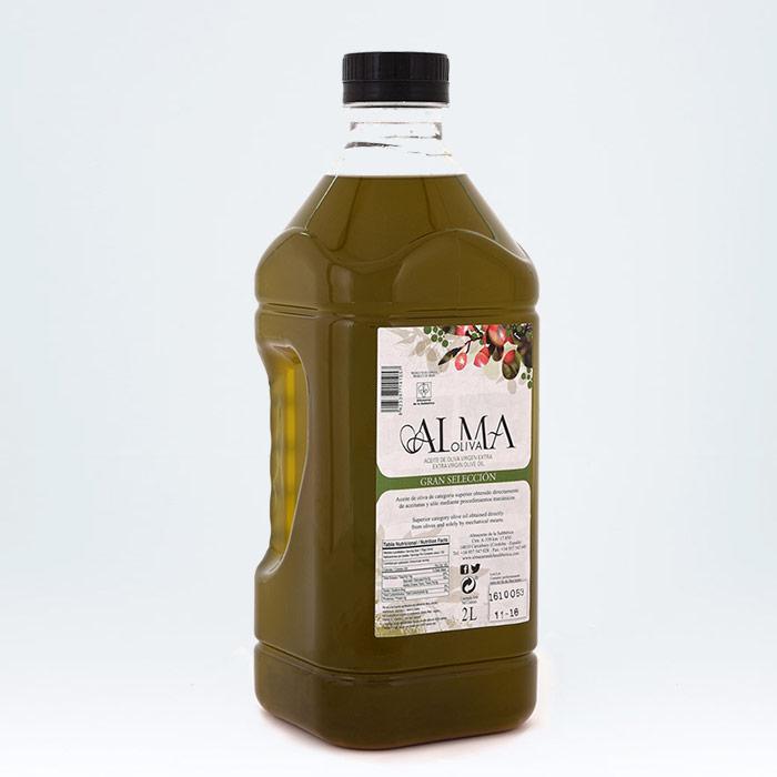 Aceite de oliva fresco sin filtrar Almaoliva Gran Selección sin filtrar